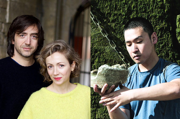 "Giuseppe Chico and<br> Barbara Matijević<br> ""FORECASTING""(Japan Premire)<br>Tamura Koichiro<br> ""MUTT"""